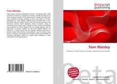 Tom Manley kitap kapağı