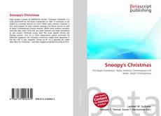 Bookcover of Snoopy's Christmas