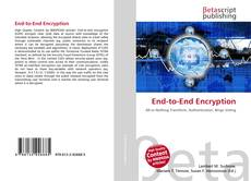 Bookcover of End-to-End Encryption