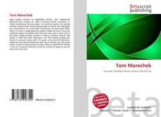 Bookcover of Tom Marechek