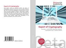 Portada del libro de Export of Cryptography