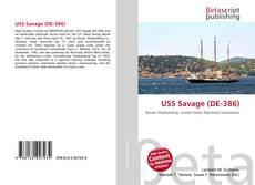 Capa do livro de USS Savage (DE-386)
