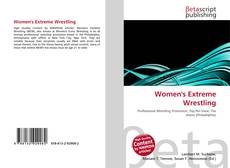 Bookcover of Women's Extreme Wrestling