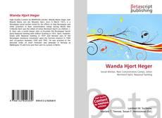 Portada del libro de Wanda Hjort Heger