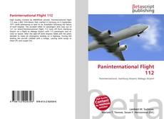 Bookcover of Paninternational Flight 112
