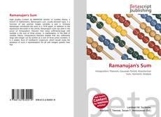 Bookcover of Ramanujan's Sum