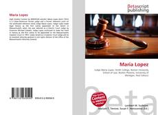 Bookcover of Maria Lopez
