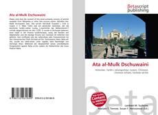 Bookcover of Ata al-Mulk Dschuwaini