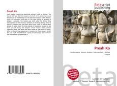 Bookcover of Preah Ko