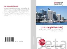Bookcover of USS Schuylkill (AO-76)