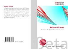Portada del libro de Robert Donne