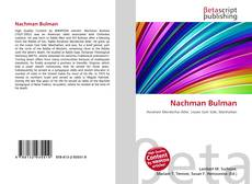 Bookcover of Nachman Bulman