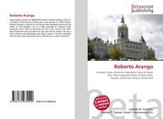 Bookcover of Roberto  Arango