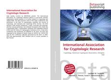 Bookcover of International Association for Cryptologic Research