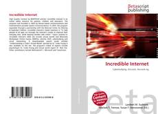 Bookcover of Incredible Internet