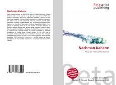 Bookcover of Nachman Kahane