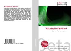 Bookcover of Nachman of Breslov