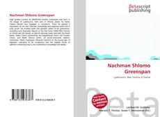 Bookcover of Nachman Shlomo Greenspan