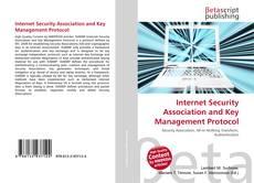 Couverture de Internet Security Association and Key Management Protocol