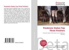 Preakness Stakes Top Three Finishers kitap kapağı