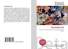 Обложка Pannella List