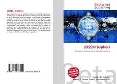 Bookcover of JOSEKI (cipher)
