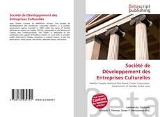 Capa do livro de Société de Développement des Entreprises Culturelles