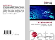 Bookcover of Société Générale
