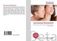 Couverture de Sociosexual Orientation