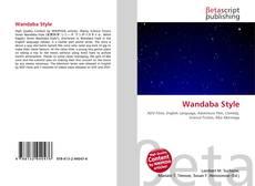 Bookcover of Wandaba Style