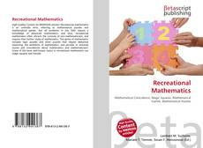 Capa do livro de Recreational Mathematics