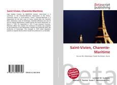 Bookcover of Saint-Vivien, Charente-Maritime