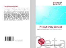 Portada del libro de Precautionary Demand