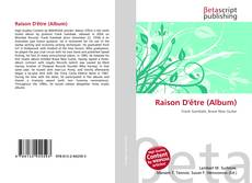 Bookcover of Raison D'être (Album)