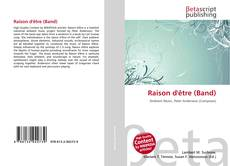 Bookcover of Raison d'être (Band)