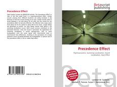 Bookcover of Precedence Effect