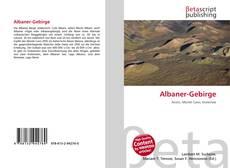 Copertina di Albaner-Gebirge