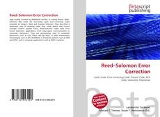 Copertina di Reed–Solomon Error Correction