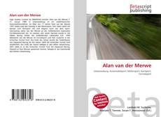 Bookcover of Alan van der Merwe