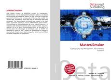 Bookcover of Master/Session