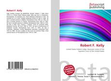 Bookcover of Robert F. Kelly