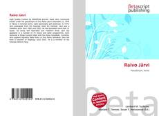 Portada del libro de Raivo Järvi