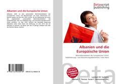 Albanien und die Europäische Union kitap kapağı