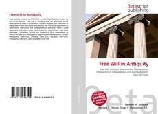Portada del libro de Free Will in Antiquity