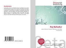 Bookcover of Raj Bahadur