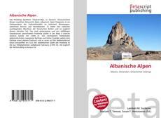 Albanische Alpen kitap kapağı
