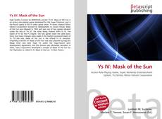 Bookcover of Ys IV: Mask of the Sun
