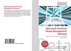 Microsoft Forefront Threat Management Gateway的封面