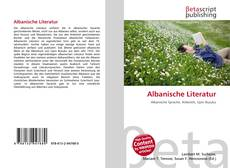 Bookcover of Albanische Literatur