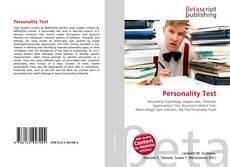 Personality Test的封面
